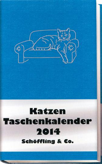 Katzen Taschenkalender 2014.