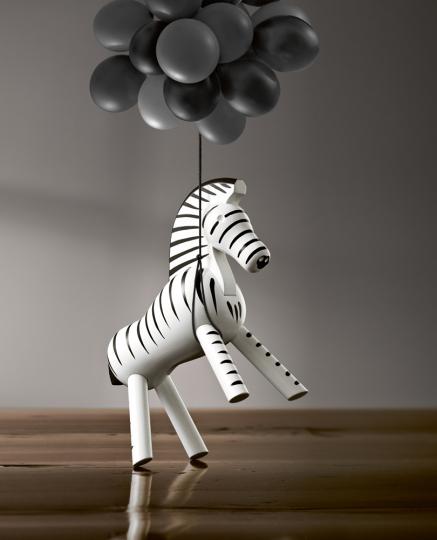 Kay Bojesen Holzfigur »Zebra«.