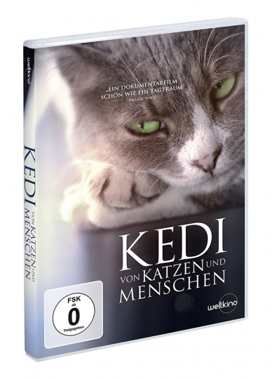 Kedi. Von Katzen und Menschen. DVD.