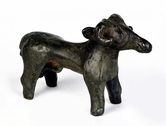 Keltische Figur »Widder von Sempt«, um 50 v. Chr.