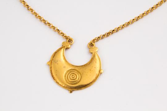Keltische Mondscheibe, um 200 v. Chr.
