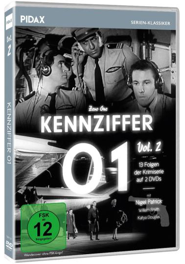 Kennziffer 01 Vol. 2. 2 DVDs.