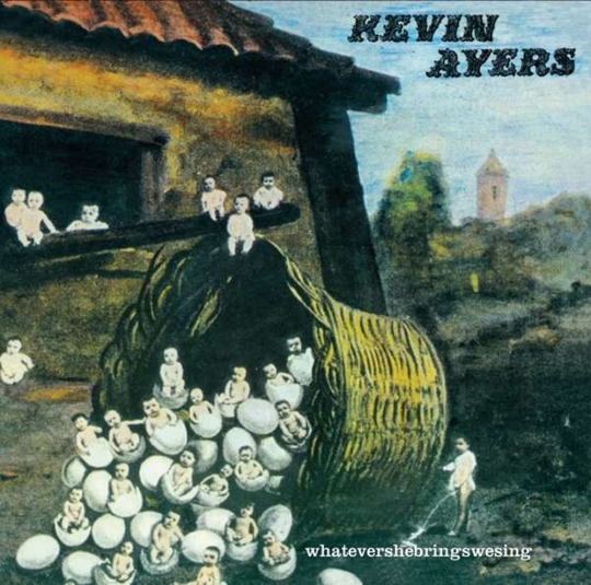 Kevin Ayers. Whatevershebringswesing + 3. CD.