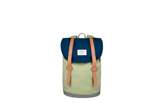 Kinder Rucksack »Stig Mini«, blau/grün.