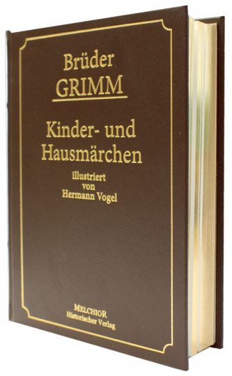 Kinder- und Hausmärchen - Reprint der Originalausgabe von 1894 - Lederausgabe