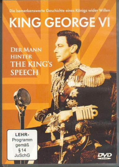 King George VI - Der Mann hinter The King's Speech DVD