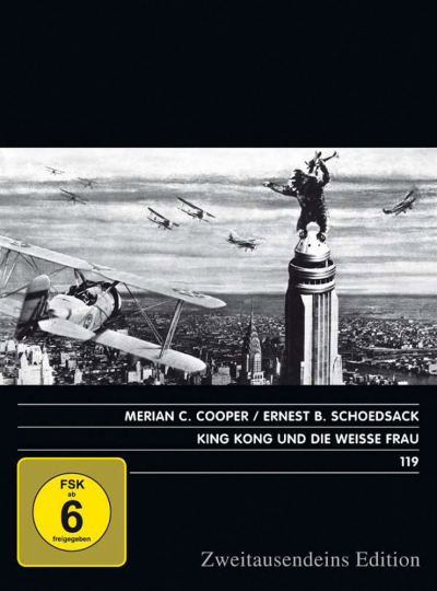 King Kong und die weiße Frau. DVD.