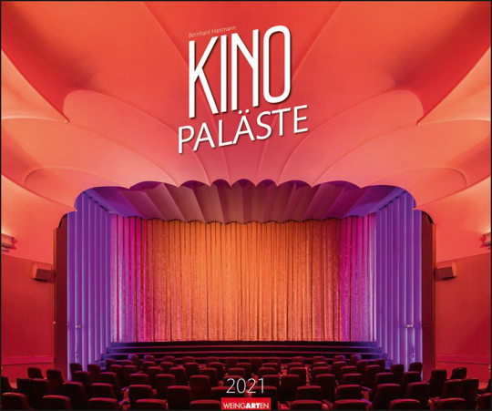 KinoPaläste Kalender 2021.