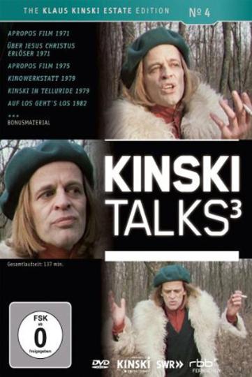 Kinski Talks 3. DVD.