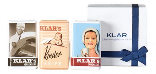 Klar's Klassiker-Geschenkset.