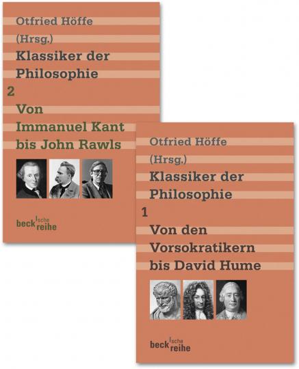 Klassiker der Philosophie. Bd. 1. Von den Vorsokratikern bis David Hume. Bd. 2. Von Immanuel Kant bis John Rawls.