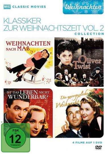 Klassiker zur Weihnachtszeit Vol. 2. 1 DVD.