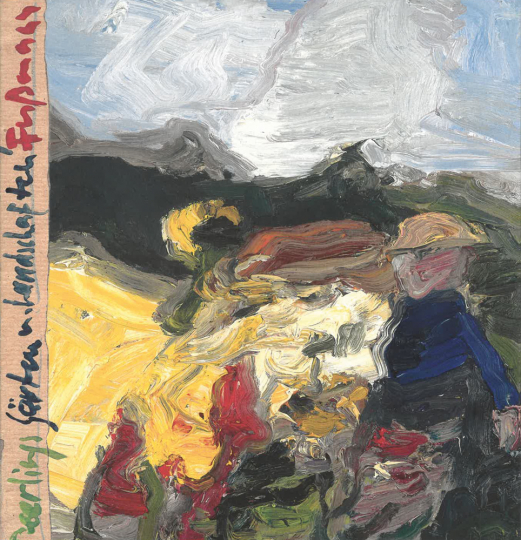 Klaus Fußmann. Gärten und Landschaften. Signierte Ausgabe.