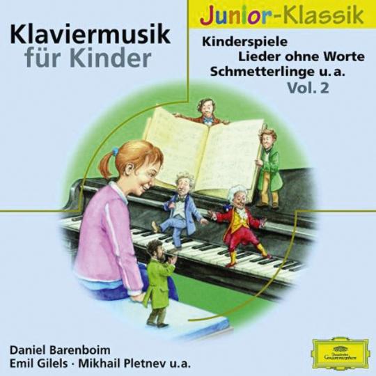 Klaviermusik für Kinder Vol. 2. CD.