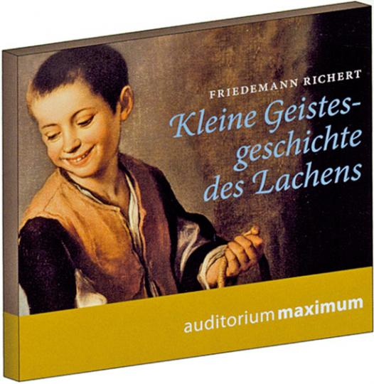 Kleine Geistesgeschichte des Lachens. 2CDs.
