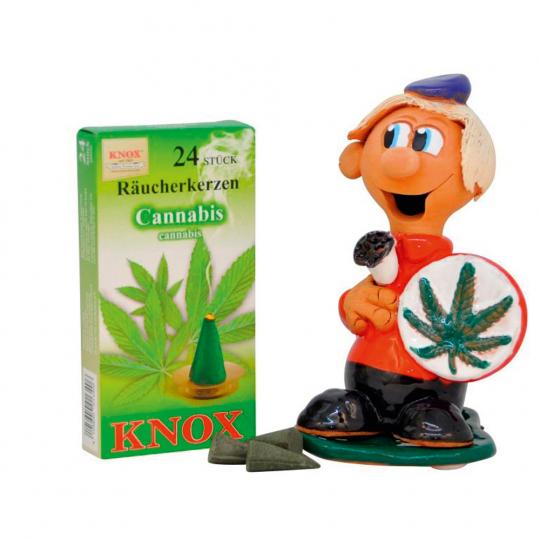 Kleiner Schmaucher »Marihuana«.