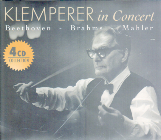 Klemperer in Concert 4 CDs