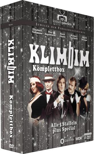 Klimbim. Komplettbox - alle 5 Staffeln plus Special. 8 DVDs.
