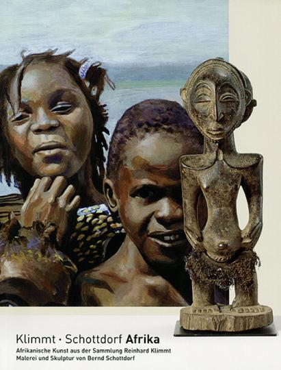 Klimmt Schottdorf Afrika. Afrikanische Kunst aus der Sammlung Reinhard Klimmt. Malerei und Skulptur von Bernd Schottdorf.
