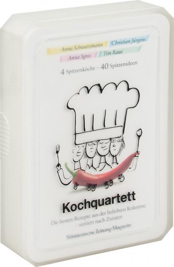 Kochquartett. 40 hochwertige Rezeptkarten in einer Kartenbox.