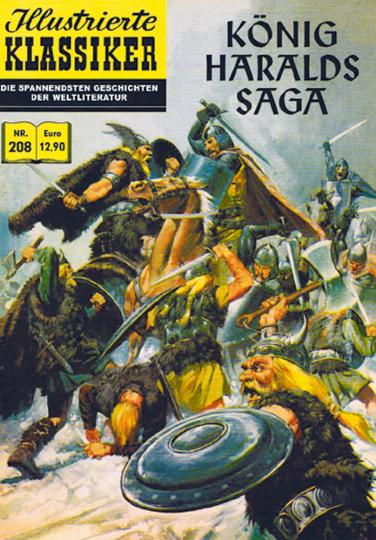 König Haralds Saga - Illustrierter Klassiker