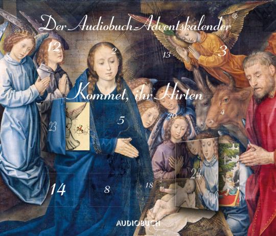 Kommet, ihr Hirten. Der Audiobuch-Adventskalender. CD.