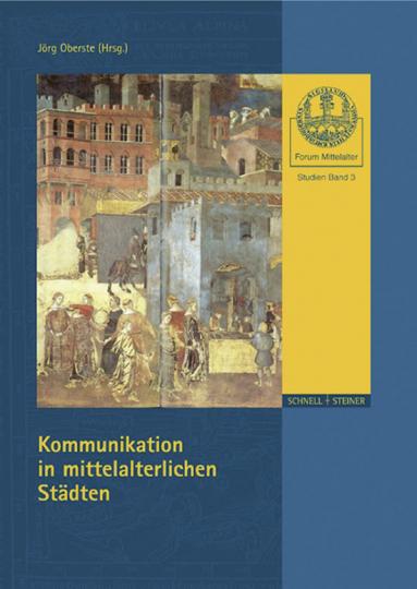Kommunikation in mittelalterlichen Städten.