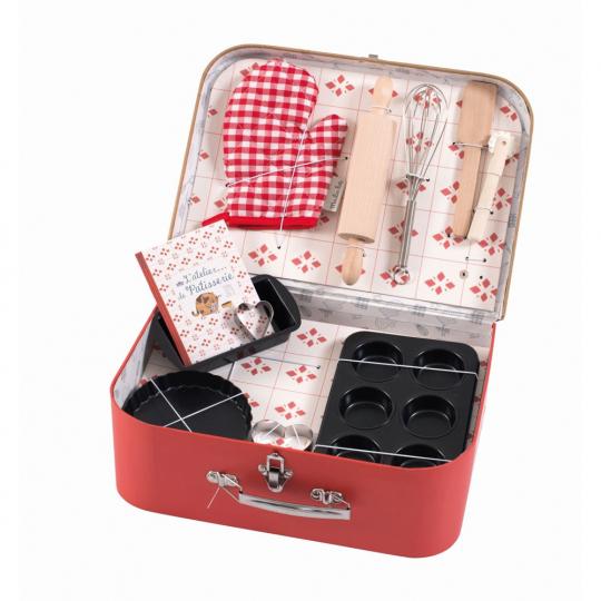 Konditorset im Koffer für Kinder.