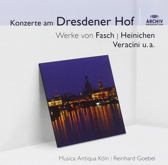 Konzerte am Dresdener Hof. CD.