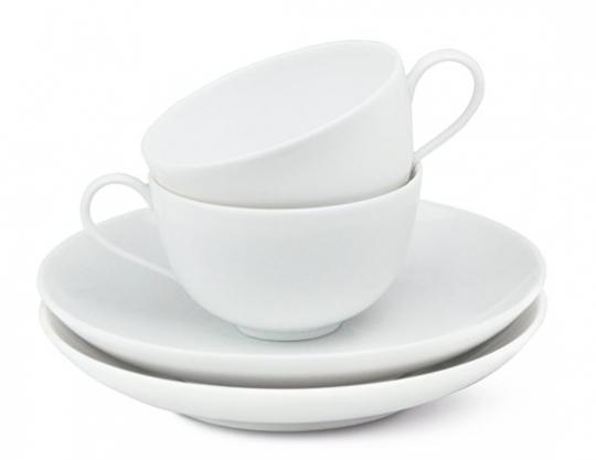 KPM Espresso-Set »Urbino«. Vierteilig.