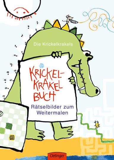 Krickel-Krakel-Buch. Rätselbilder zum Weitermalen.