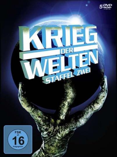 Krieg der Welten. Staffel 2. 5 DVDs.