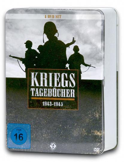 Kriegstagebücher 1943 - 1945 4 DVDs in Metallbox