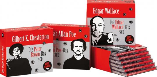 Krimiklassiker. Die große Hörbuchbox. 18 CDs.