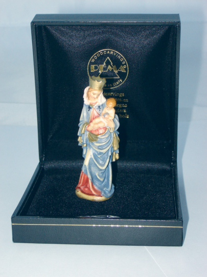 Krumauer Madonna - Miniatur im Etui