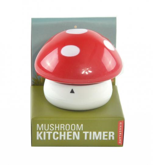 Küchenuhr »Pilz«.