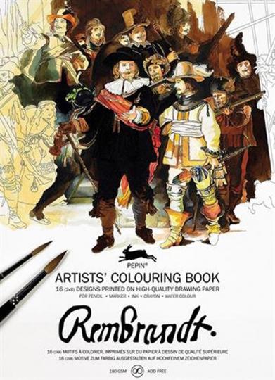 Künstler-Malbuch »Rembrandt«.