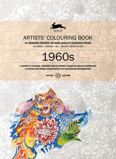 Künstler-Malbuch »Sixties«.