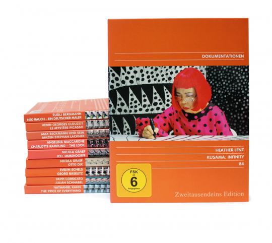 Kunst-Doku Paket. 10 DVDs.