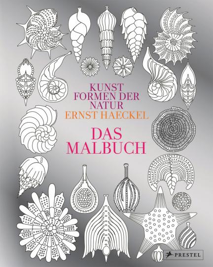 Kunstformen der Natur von Ernst Haeckel. Das Malbuch.