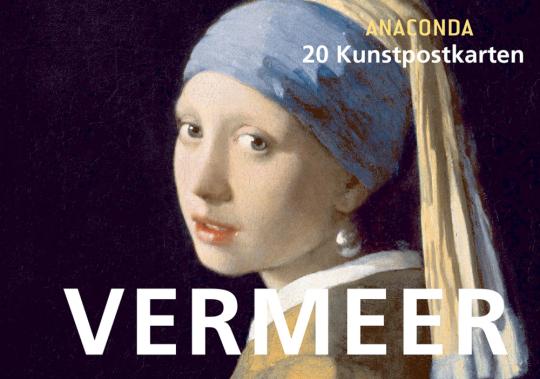 Kunstpostkarten Vermeer