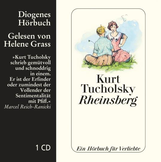 Kurt Tucholsky. Rheinsberg. Ein Hörbuch für Verliebte. 1 CD.