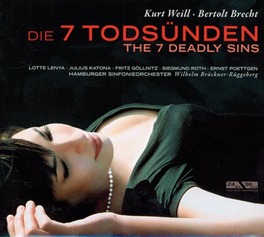 CD Kurt Weill: Die Sieben Todsünden. CD