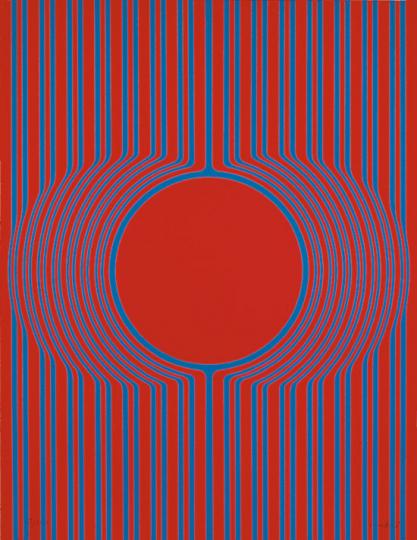 Kyohei Inukai. »Kle 2«, 1969. Originalgrafik.