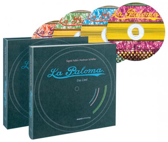 La Paloma. Das Lied. Buch mit vier CDs.