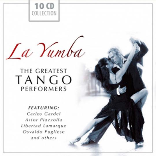 La Yumba. The Greatest Tango Performers. 10 CD-Set.