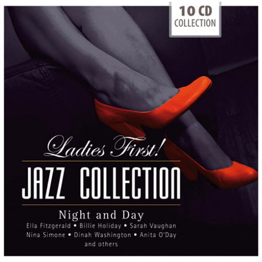 Ladies First. Jazz Collection. 10 CDs.