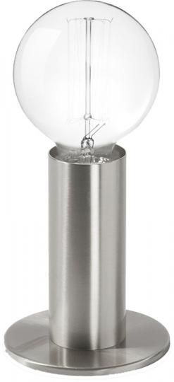 Lampe »Sol«. Silber.