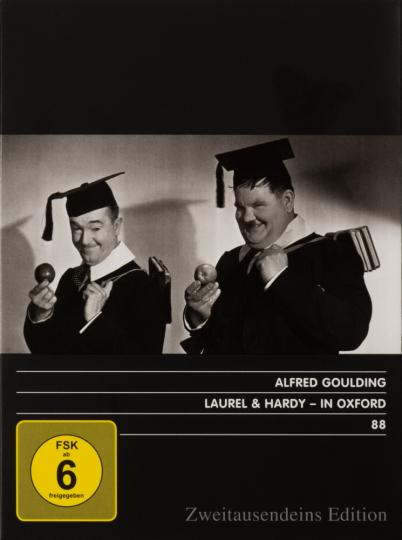 Laurel & Hardy. In Oxford. DVD.