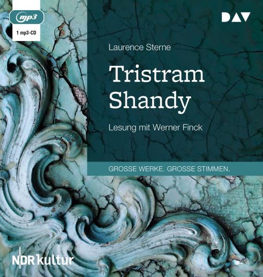 Laurence Sterne. Das Leben und die Meinungen des Tristram Shandy. 1 mp3-CD.